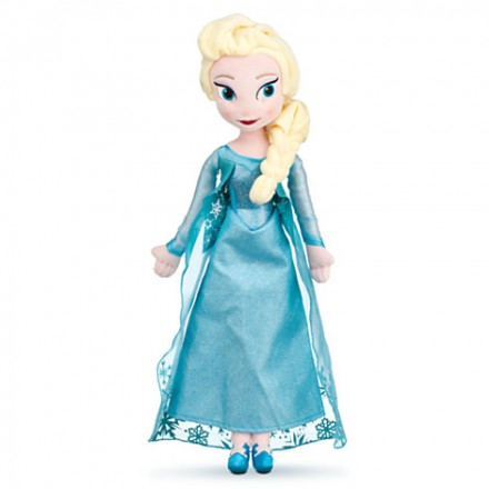 Disney Frozen- Elsa Plush Doll - 15''