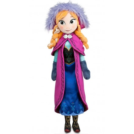 Disney Frozen- Anna Plush Doll - Medium - 15''