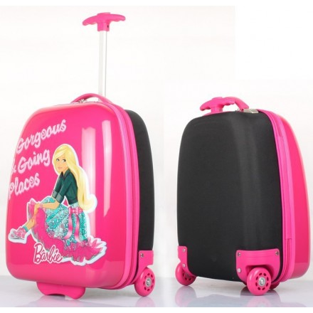 Barbie 'Georgeous & Going Places' ABS 16inch Trolley