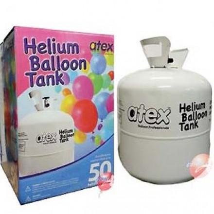 Helium Gas Tank (fills 50 balloons)