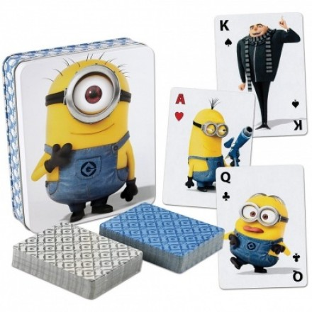 Despicable Me 2 Minions Playing Cards 2 Deck Set