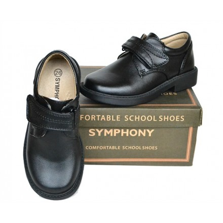 Boys Symphony Comfortable School Shoes (size 31, 32)