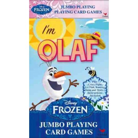 Disney Frozen Jumbo Movie Playing Cards- I'M OLAF