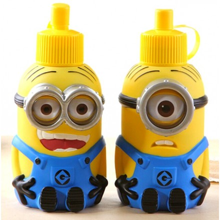 NEW 3D Minions Stainless Steel Vacuum Water Bottles 600ml