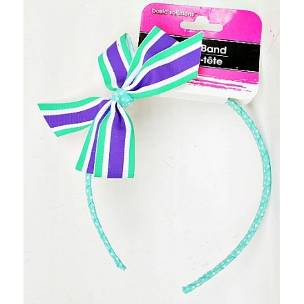 Basic Solutions Girls Bow Head Band