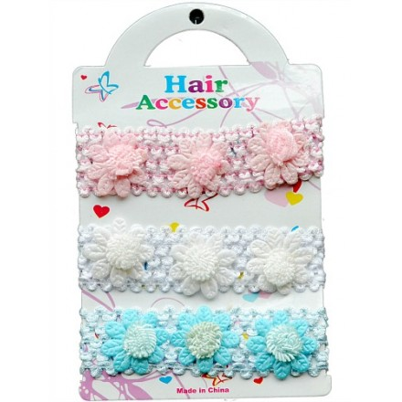 Baby Girl 3pack headband set