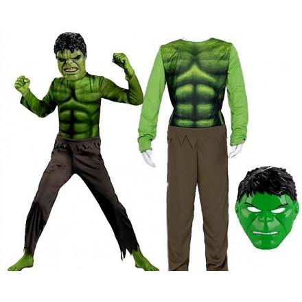 Hulk Avengers Muscle Child Costume (3-7yrs)