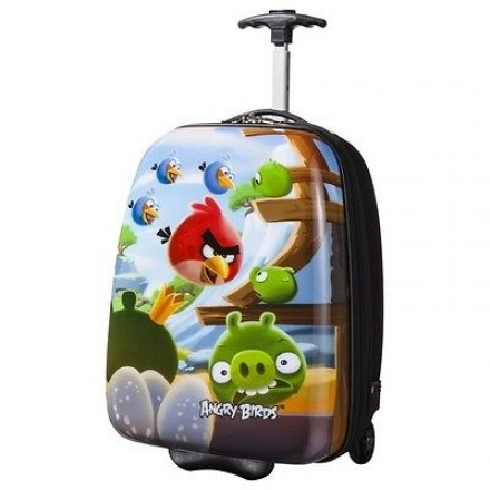 ROVIO ANGRY BIRDS ABS ROLLING LUGGAGE CASE-16inches
