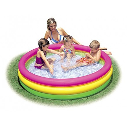 "Intex Kids Pool - Summer Sunset Glow Design - 58"" x 13"""