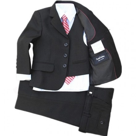 Kaerbindu Boys 5piece Formal Suit (1-8yrs) (includes white shirt & Tie)
