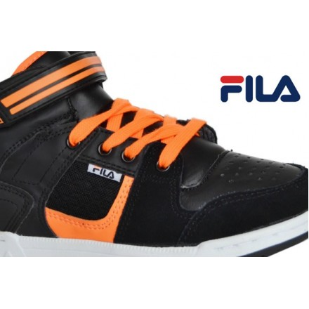 Boys Fila Hi-top Trainers- EUR size 34