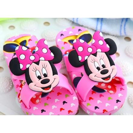 Cute 3D Minnie Slippers - (24-33)