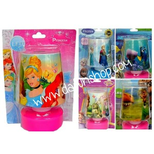 Kids Bedroom Table LED Lamp - assorted characters
