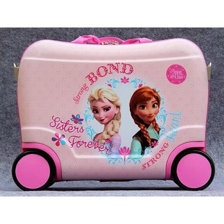 Kids Character Ride-on Luggage- Frozen, Minnie, Spiderman, Mickey, Sofia, Jake