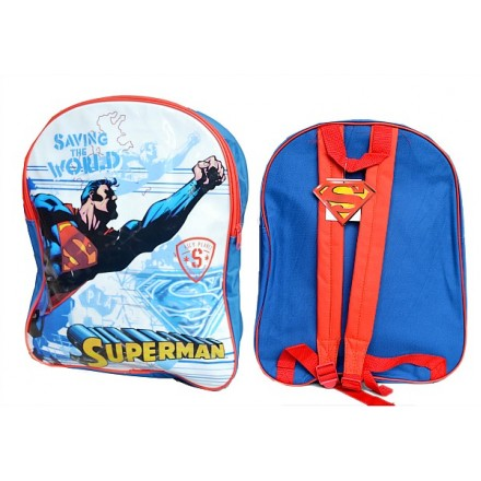 Superman Large Backpack- 16inches