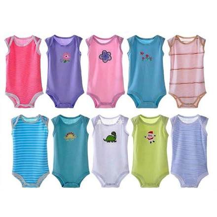 Carters 5 Pieces Baby Bodysuits(0-24mths) Boys & Girls