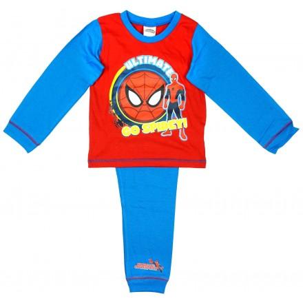 Boys Ultimate Spiderman Go Spidey Web Pyjamas (18mths-4yrs)
