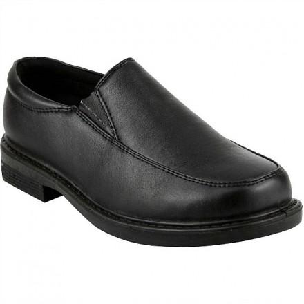 French Toast Boys Matt Slip On School Uniform Shoes- size US 11, 5, 6