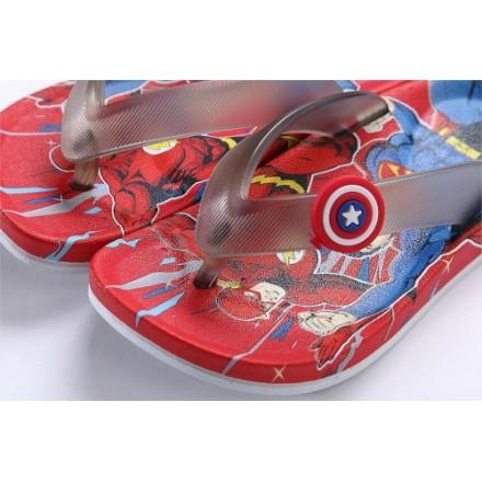 Cartoon Spiderman/ Avengers Eva Non-Slip Slippers- EUR Size 23-27