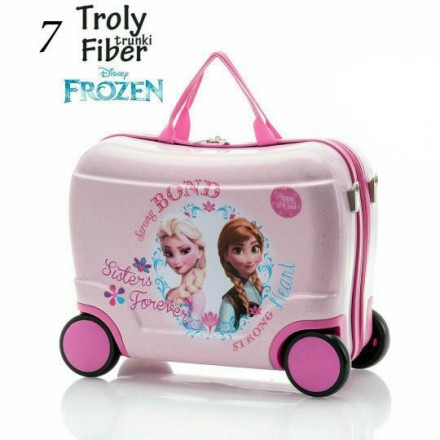 Frozen Girls Ride-on Luggage