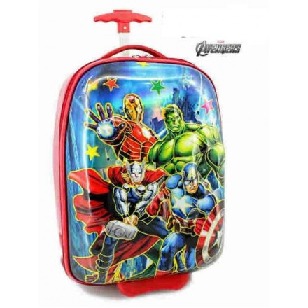 Avengers 6D Glossy ABS Luggage Trolley