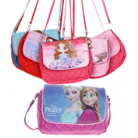 Girls Character handbags- assorted designs