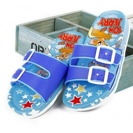 Cartoon Double Strap Eva Non-Slip Slippers- EUR Size 23-32 (Boys & Girls)