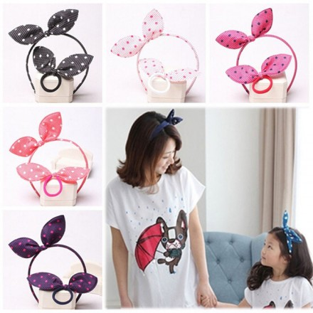 Fashion Girls 2pcs Bunny Hair accessory set