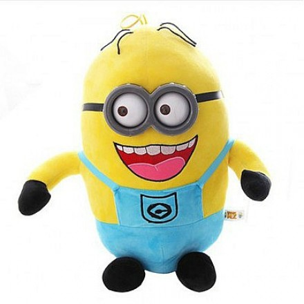 Minions large 15inches 3D Eyes Plush Toy - DAVE