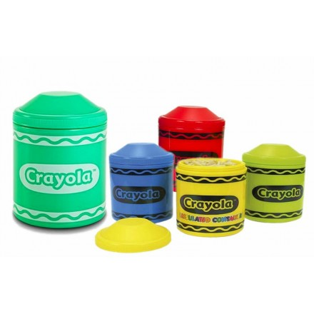 Crayola Thermal Vacuum Food Jar - 310ml- assorted Colours