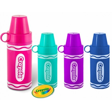 Crayola Thermal Vacuum Water Bottle/Flask