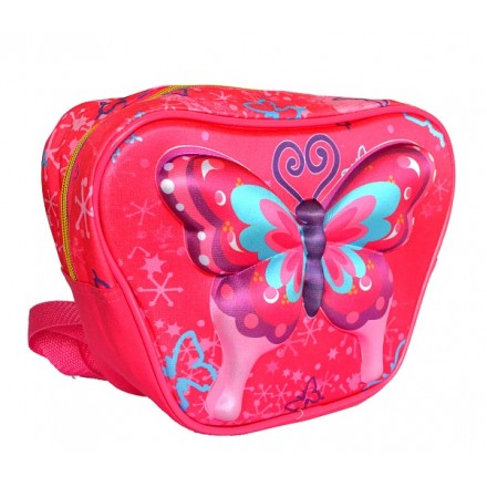 Kadnoo 3d Butterfly Insulated Lunch bag/backpack