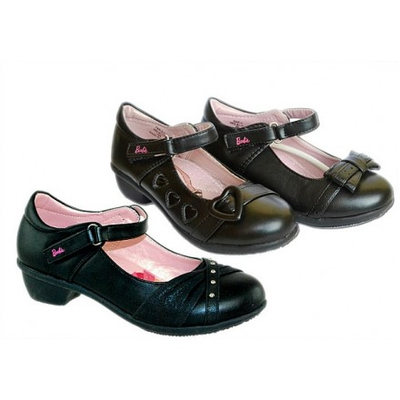 Barbie Girls Black shoes- US 9, 10, 2, 6 (EUR 27, 28, 33, 38)