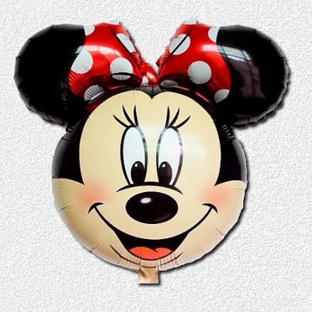 Disney Minnie Mouse JUMBO Head Supershape Foil Balloon