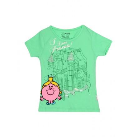 Kids Ville Mr. Men Little Miss Girls Sequin Printed Tee (2-5yrs)