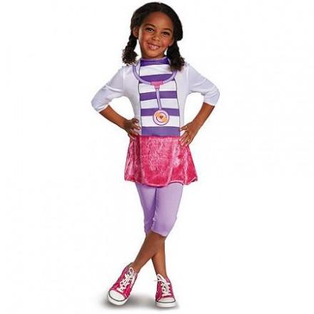 Doc McStuffins One piece Girls Costume (2-3yrs)