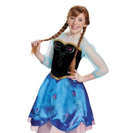 Frozen Anna Fancy Dress for older girls- 10yrs