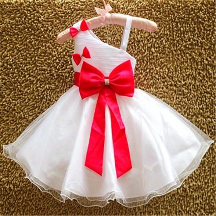 Eudora Elegant Princess Dress- 12mths- Pink