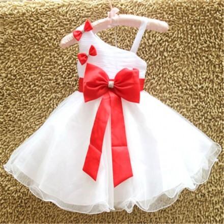 Eudora Elegant Princess Dress- 12mths- Peach