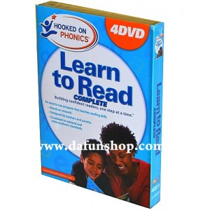 Hooked on Phonics- Learn to Read Complet 4dvd box set