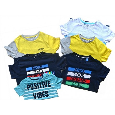 Okaidi Boys Tees- assorted designs (18mth-8yrs)