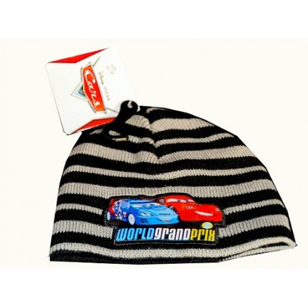 Disney Cars Lightning Mcqueen Winter Beanie Hat -Newborn (0-3mths)