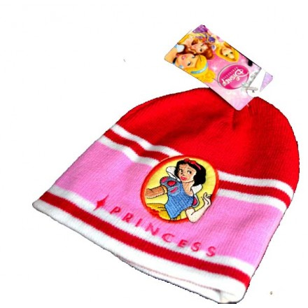 Disney Princess Warm Beanie Hat- 50cm (1-3yrs)
