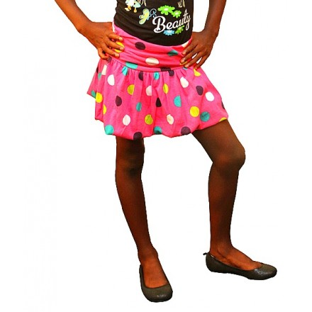Fhillips Russell Girls Polka dot Bubble skirt- 7yrs