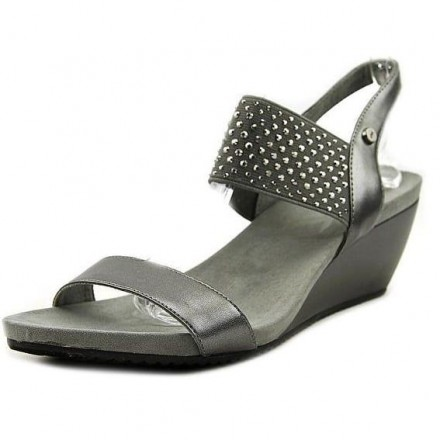 Anne Klein Castie Wedge Sandals - US size 6, EUR SIZE 38