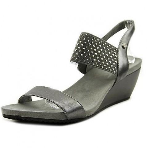 Anne Klein Castie Wedge Sandals - US size 6, EUR SIZE 38