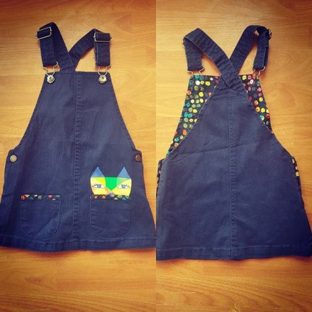 United Colours of Benetton Dungarees - 2yrs