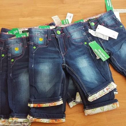 United Colours of Benetton Girls Capri Skinny Jeans Shorts   - 2-5yrs