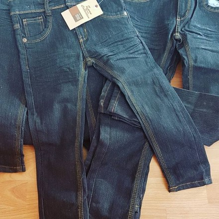 Zara Boys Black Straight Denim Jeans Pants  - 2yrs - 11yrs
