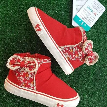 Babaya Toddler Girl Hitop Sneakers